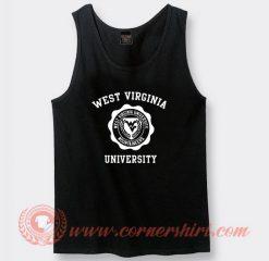 West Virginia University Custom Tank Top