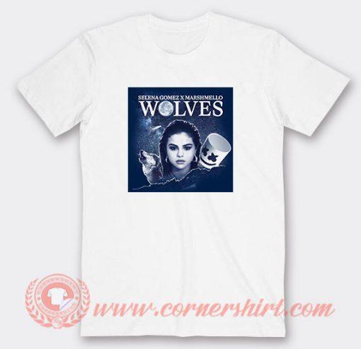 Wolves Selena Gomez feat Marshmello T-Shirts