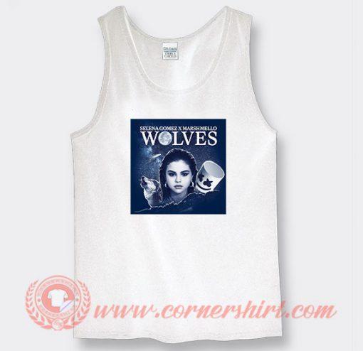 Wolves Selena Gomez feat Marshmello Tank Top