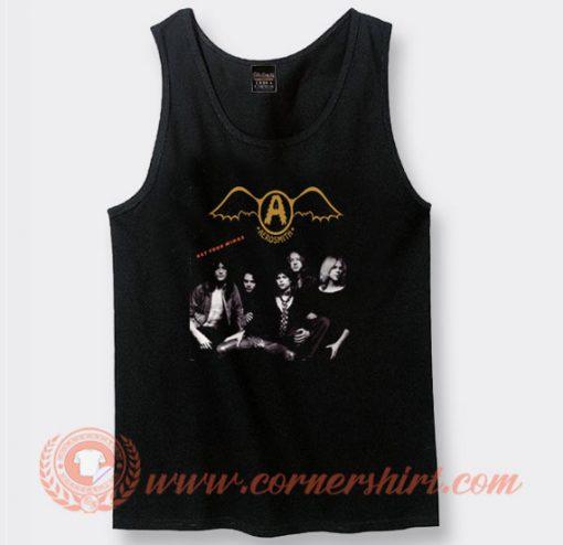 Aerosmith Get Your Wings Album Tank Top