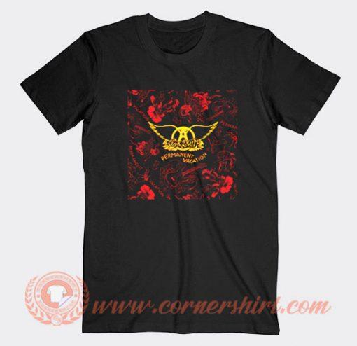 Aerosmith Permanent Vacation Album T-Shirt