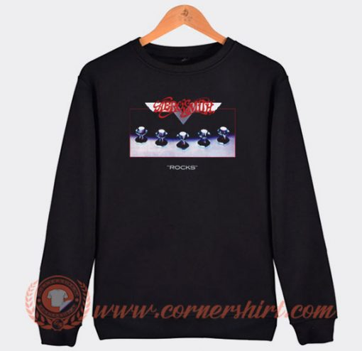 Aerosmith Rocks Album Sweatshirt