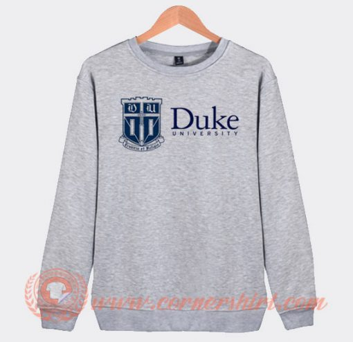 Duke University Logo Sweatshirt