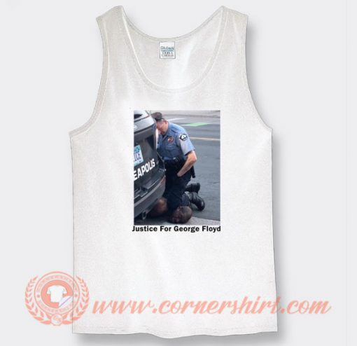 Justice For George Tank Top