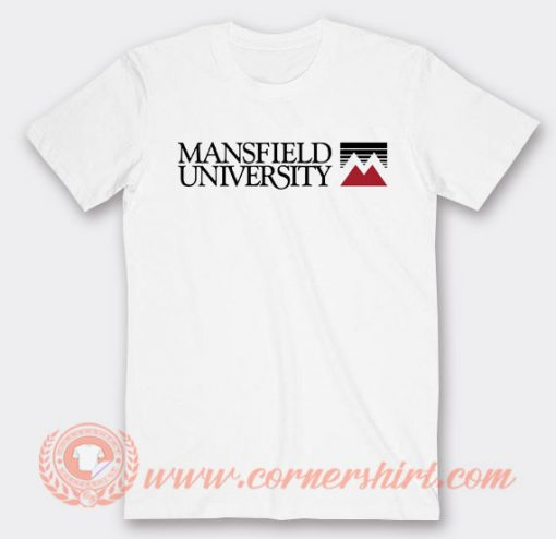 Mansfield University Logo T-Shirt