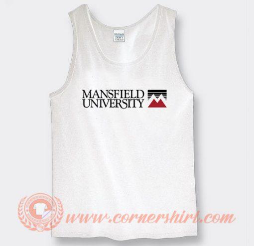 Mansfield University Logo Tank Top