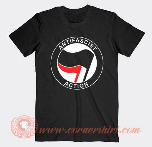Antifa Antifascist Logo T-Shirt
