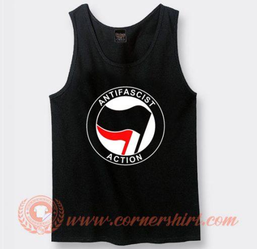 Antifa Antifascist Logo Tank Top