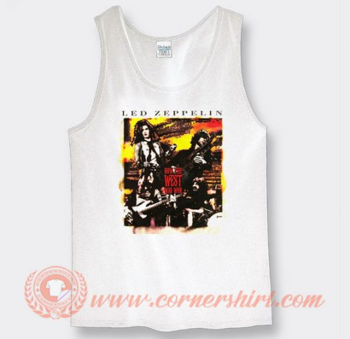 Led Zeppelin How The West Was Won Tank Top