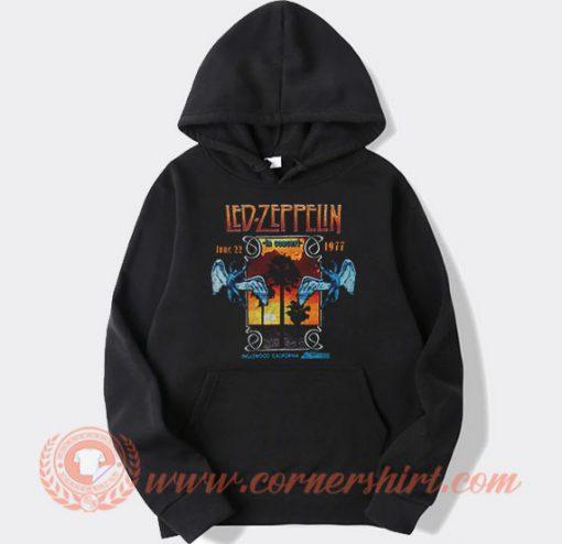 Led Zeppelin In Concert Inglewood Hoodie