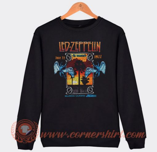 Led Zeppelin In Concert Inglewood Sweatshirt