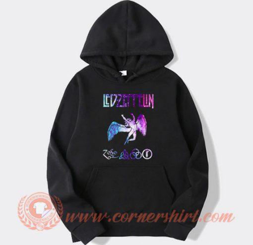 Led Zeppelin Logo Nebula Hoodie
