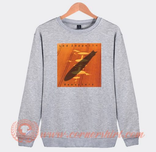 Led Zeppelin Remasters Album Sweatshirt