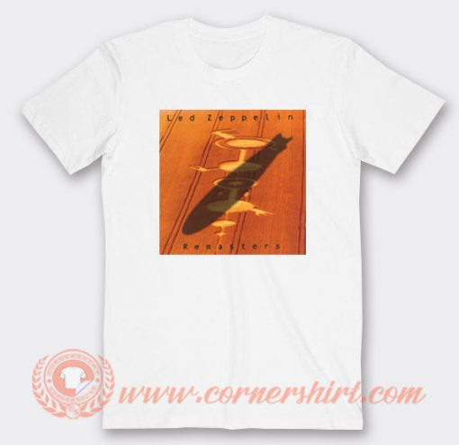 Led Zeppelin Remasters Album T-Shirt