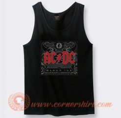 Acdc Black Ice Album Tank Top