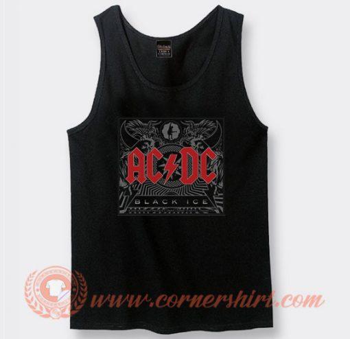 Acdc Black Ice Album Tank Top