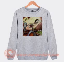 Acdc Dirty Deeds Done Dirt Album Sweatshirt