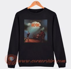 Acdc Let There Be Rock Album Sweatshirt