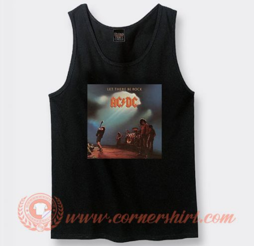 Acdc Let There Be Rock Album Tank Top