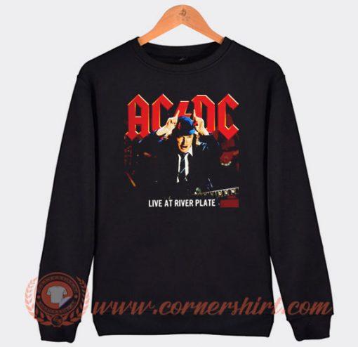 Acdc Live At River Plate Album Sweatshirt