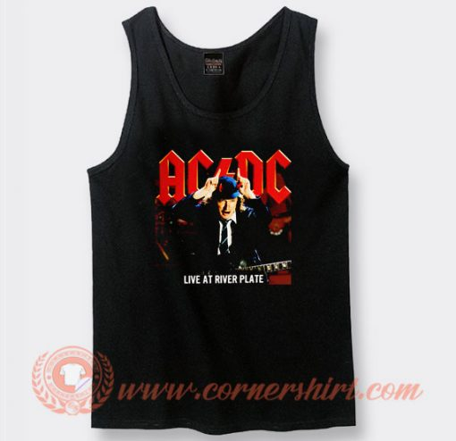 Acdc Live At River Plate Album Tank Top