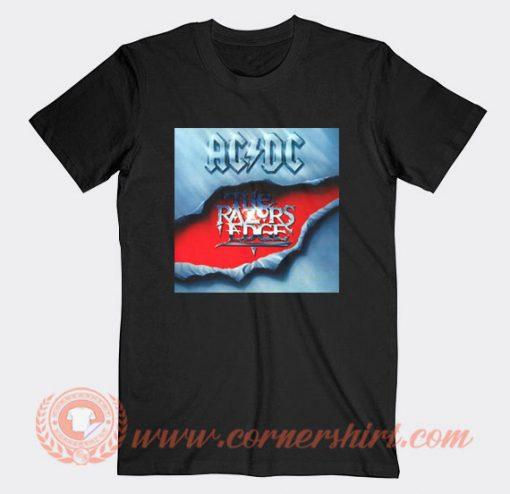 Acdc The Razors Edge Album T-Shirt