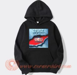 Acdc The Razors Edge Album Hoodie