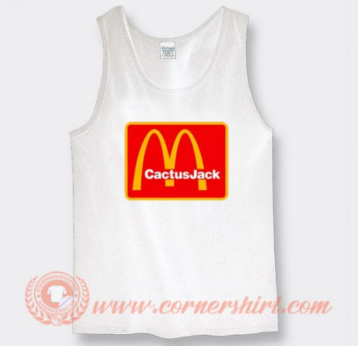 Travis Scott Cactus Jack X McDonald's Tank Top