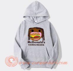 Travis Scott McDonald's Hamburgers Hoodie