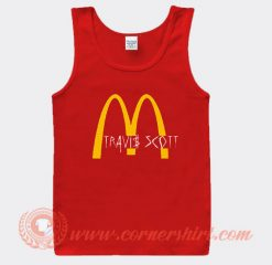 Travis Scott X McDonald's Collab Tank Top