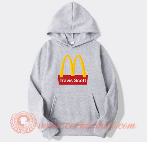 Travis Scott X McDonald's Hoodie On Sale