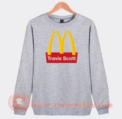 Travis Scott X McDonald's Sweatshirt On Sale