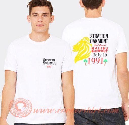 Stratton Oakmont T-Shirt On Sale