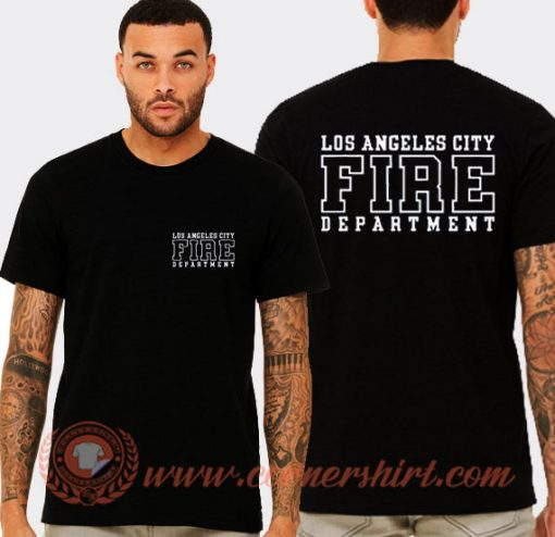 Los Angeles City Fire Department Tees T-Shirt