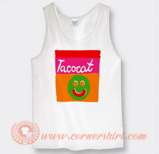Buy Tacocat Smile Striped Tank Top