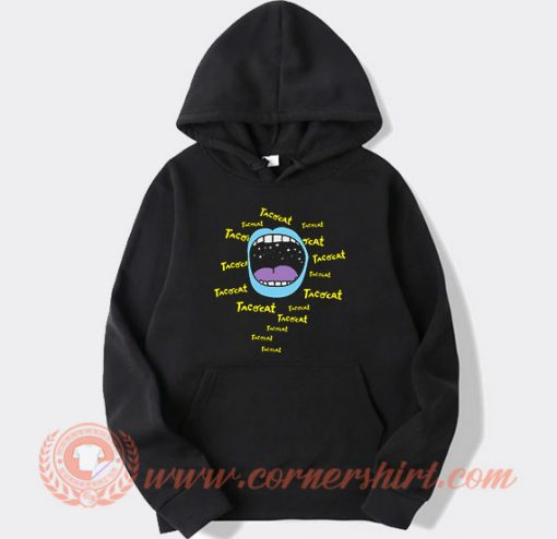 Mouthy Blue Tacocat Band Hoodie