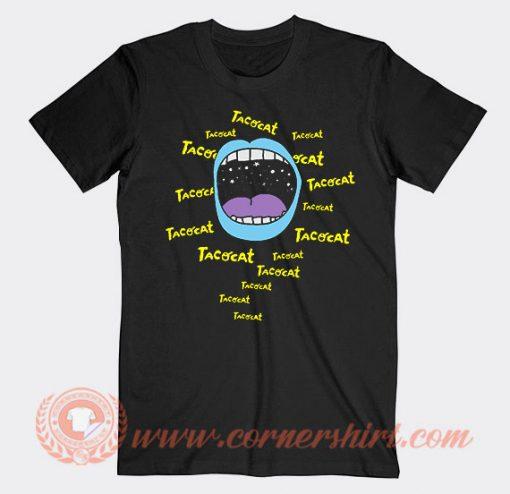 Mouthy Blue Tacocat Band T-Shirt