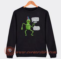 Yer a Wizard Kermit The Frog Sweatshirt