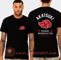 Akatsuki Shinobi Organization T-shirt