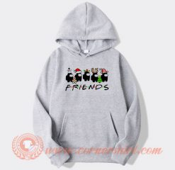 Among Us Christmas Friends Tv Show Hoodie