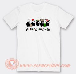 Among Us Christmas Friends Tv Show T-shirt