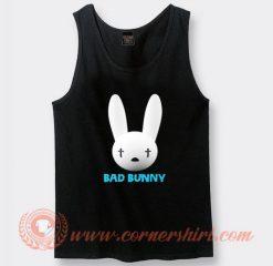 Bad Bunny Funny Logo Tank Top