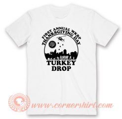 First Annual Thanks Giving Day WKRP Turkey Drop T-shirt