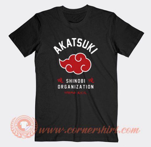 Naruto Akatsuki Shinobi Organization T-shirt