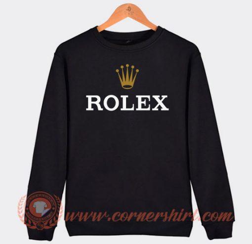 Rolex Logo Sweatshirt