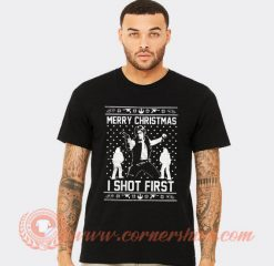Star Wars Han Solo Christmas T-shirt
