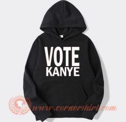 Vote Kanye West For President Hoodie
