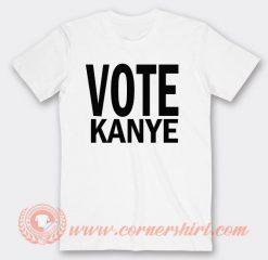Vote Kanye West For President T-shirt