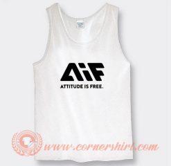 AIF Logo Attitude is Free Tank Top