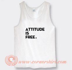 Attitude is Free Brett Hardt Tank Top